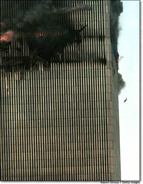 September 11, 2001, World Trade Towers, New York.